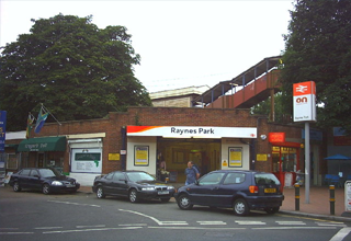 Taxi in Rayens Park
